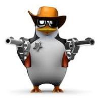 Sheriff Penguin