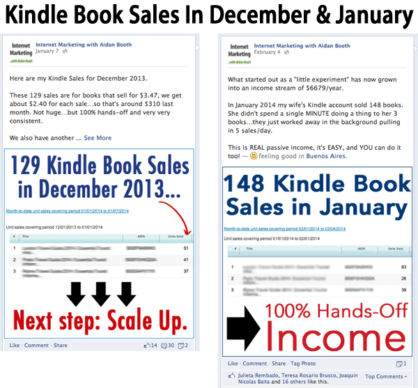 Kindle Sales in December and January