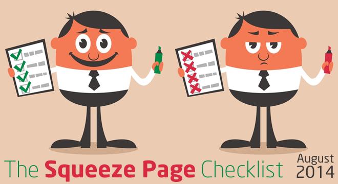 squeezepagechecklist